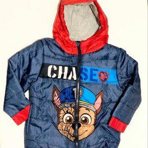 Brand new Paw Patrol Chase warm/winter jacket